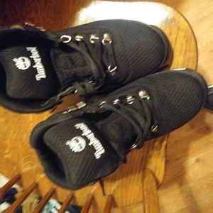 Sz 10.5 men's timberland blk euro hiking boots 👢